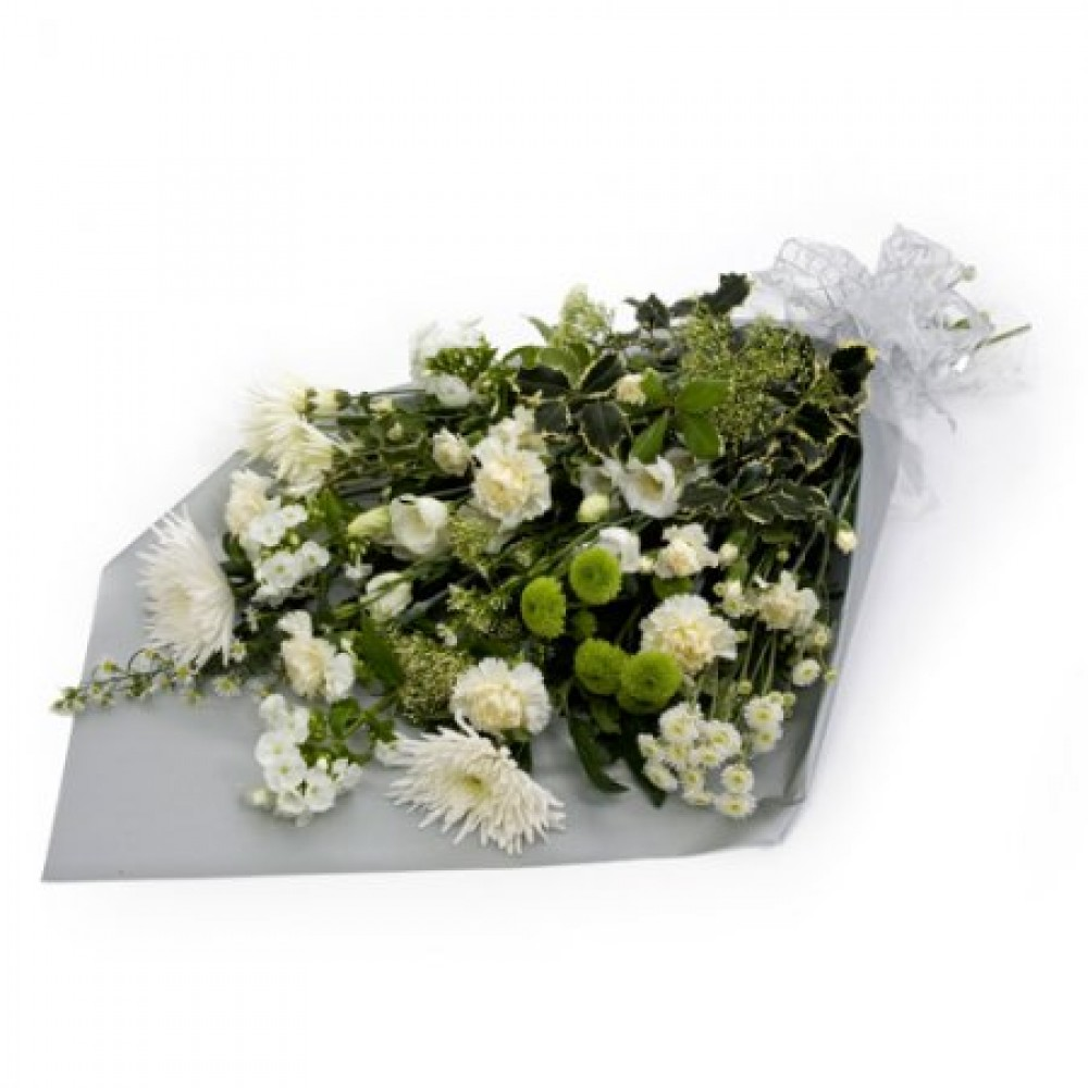 Classic White Bouquet | Flower Passion