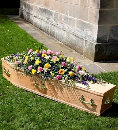 Classic Traditional Casket Spray